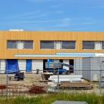 Hoogste punt nieuwbouw MFA Lagewei bereikt (Vrouwenpolder, Barendrecht)