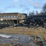 Oude schoolgebouw op Botter locatie tegen de vlakte