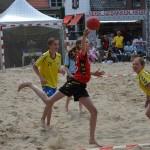 Beach Handbalwedstrijden (15:00, 15:45 - 16:30), Beach Barendrecht 2014