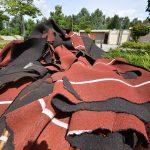Atletiekbaan op de Bongerd ontdaan van 'rode kleurtje'