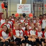 Barendrechtse volleybalclub CVV Spirit viert 50-jarig bestaan!