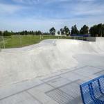 Skatewedstrijd bij opening van nieuw deel skatebaan Henry Dunantlaan in Barendrecht
