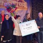 Wereldwinkel wint Waarderingsprijs Vrijwilligers tijdens Winterfeest Barendrecht 2014