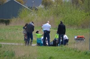 Meisje valt van paard, traumahelikopter ingezet in Barendrecht