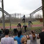 Technasium bezoekt mariniers ter inspiratie voor eigen stormbaan in Zuidpolder, Barendrecht