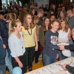 Uitreiking talendiploma's op het Dalton Lyceum in Barendrecht