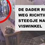 VIDEO: Jongeman steelt ketting bij Van Leeuwen Juwelen aan de Middenbaan in Barendrecht