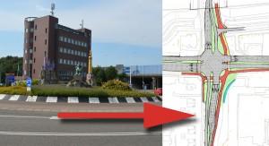 Openstelling onderdoorgang A29: Efteling rotonde verdwijnt, groot kruispunt ervoor terug