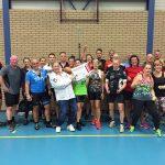 Fitness & Bootcamp Club haalt €8.346 op voor Daniel den Hoed met spinning marathon