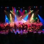 Talenten Dalton Lyceum op het podium van Theater Het kruispunt