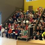 1 april grap Groen van Prinsterer: Leerlingen present voor schoolinspectie