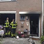 Uitslaande brand in woning aan de Schokker in Barendrecht