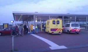 Persoon aangereden op parkeerdek NS station Barendrecht (Stationsweg)