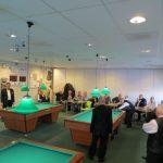 13, 14 en 15 jan: Biljart-finale bandstoten in sporthal Lagewei