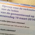 Uitslag gemeenteraadsverkiezingen 2014 Barendrecht