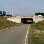 Kinderen maken kunst aan de Voordijk: 'Een brug door een tunnel', Voordijk Barendrecht