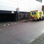Persoon aangereden bij parkeergarage Middenbaan (Barendrecht)