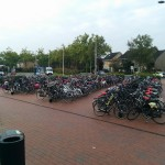 Fietsen, station Barendrecht