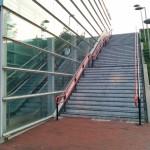 Eerste trappen NS-station Barendrecht worden hersteld, meer reparaties afhankelijk van budget