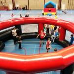 Sportmiddag voor kinderen in De Driesprong, Barendrecht