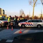 Jongetje op fiets lichtgewond bij aanrijding met auto op de Portlandse Baan in Barendrecht/Rhoon