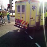 Automobilist merkt niet van aanrijding met fietser aan de Dierensteinweg in Barendrecht