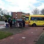 Vrouw gewond aan been bij aanrijding rotonde 2e Barendrechtseweg in Barendrecht