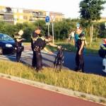 Fietser geschept door auto aan de Baanvakwei in Barendrecht