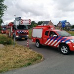 Hulpdiensten rukken groots uit voor zwemmer Kooiwalbos, Barendrecht