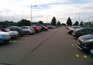 Parkeerdek overkapping NS station Barendrecht