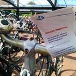 Waarschuwing voor fietsen die te lang in stalling bij station Barendrecht staan