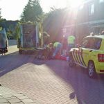 Slachtoffer naar ziekenhuis na aanrijding met auto aan de Notenhof