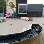 Vernielingen op schoolplein Dr. Schaepmanschool aan de Evertsenstraat
