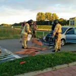 Veel schade bij aanrijding tussen twee auto's op kruispunt Zuider Carnisseweg