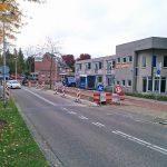 Bushaltes langs Dudokdreef voor nieuwe busroute via Henry Dunantlaan