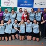 Savosa Dames B winnen Arnhem Cup Girls U17 (Handbalvereniging Barendrecht)