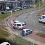 Politie vist verdachte uit sloot na achtervolging 1e Barendrechtseweg