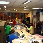 Leerlingen groep 8 op bezoek bij Calvijn Groene Hart in Barendrecht