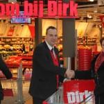 Supermarkt Dirk sponsort Veranderdag Stichting Present Barendrecht