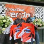 Bedankjes op jaarlijkse BBQ bij Fietscrossclub Barendrecht