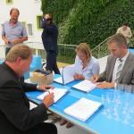 LOC aan de Dierensteinweg opgeleverd: Leerlingen maandag al van start (Barendrecht)