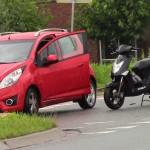 Ongeval met scooter bij bedrijventerrein 1e Barendrechtseweg (Barendrecht)