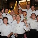 Hobby koks uit Barendrecht winnen Cuisine Culinaire wisselbokaal
