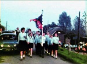 Historie: 8e Marijke wandeltocht Barendrecht in 1963