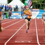 Nienke Timmer van CAV Energie (Barendrecht) actief op Paralympisch EK in Engeland