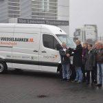 Nieuwe bus voor Voedselbank Barendrecht dankzij schenkingen