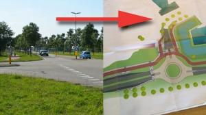 Openstelling onderdoorgang A29: Rotonde Henry Dunantlaan, nieuwe locatie bushaltes