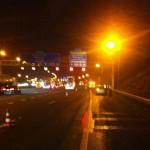 Ongeluk vrachtwagen A15 bij Barendrecht