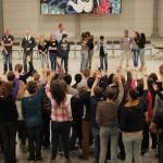 Over de Streep Barendrecht: Klasgenoten leren dat schelden óók veel pijn doet (Focus Beroepsacademie, Barendrecht)