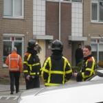 Brandweer onderzoekt gaslucht Mahlerstraat in Barendrecht